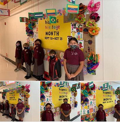 Columbus Preparatory and Fitness Academy students celebrate Hispanic Heritage Month!